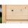 Holz (unbehandelt) | 69x69x40 cm | Mit Dach (kein Deckel) | fertig montiert
