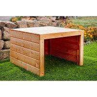 Holz (lackiert) | 69x69x40 cm | Mit Dach (kein Deckel) |...